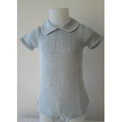 Combinaison  tricot   pour bébé