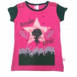 "T-shirt manches courtes ""Super Star"" -50%"