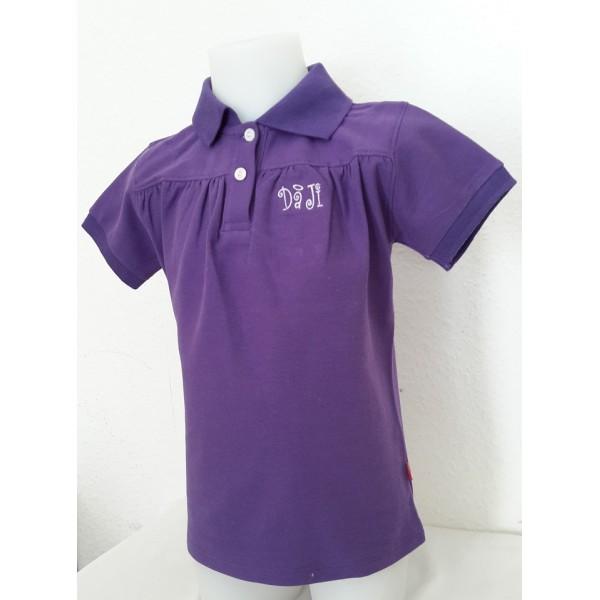 T-shirt manches courtes en mailles piquées fines  -50%